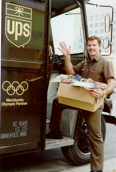 The gallery for --> Ups Delivery Man Uniform
