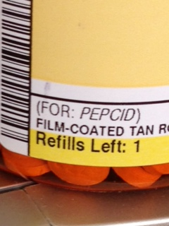 Kaiser's finest generic capsules for Pepcid lovers. 2x/day, mind you.